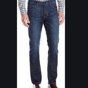 Paige Federal PonyBoy Slim Fit Dark Wash Jeans